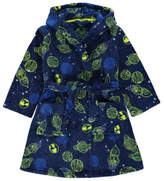 George Super Soft Planet Print Dressing Gown
