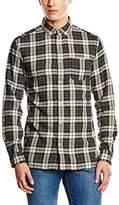 Jack and Jones Men's Rikki Checkered Long Sleeve Casual Shirt