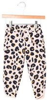 Stella McCartney Girls' Leopard Print Jogger Pants