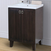 "InFurniture 24"" Single Bathroom Vanity Set Base"