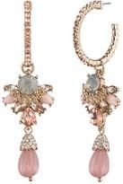 Marchesa Hoop Drop Earrings