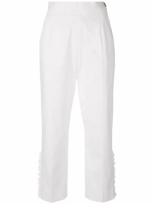 I'M Isola Marras Cropped Ruffle Trousers