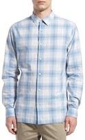 Vince Men's 'Melrose' Trim Fit Plaid Sport Shirt