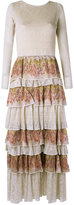 Cecilia Prado knit maxi dress - women - Cotton/Acrylic/Lurex/Polyester - P