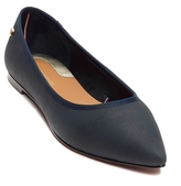 Tommy Hilfiger Leather Pointy Toe Flat