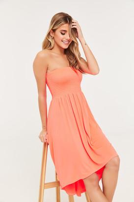 Ardene Strapless High-Low Dress