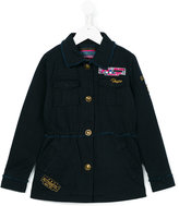Vingino chest pocket shirt jacket - kids - Cotton - 8 yrs
