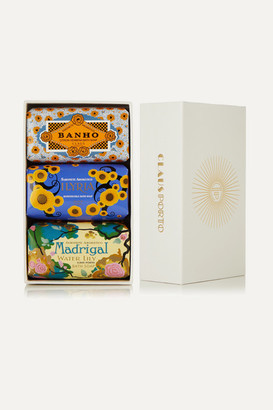 Claus Porto Deco Soap Set, 3 X 150g