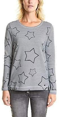 Cecil Women's 300646 Sweatshirt,X-Small