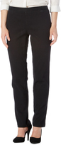 Focus 2000 Black Straight-Leg Pants