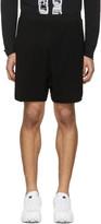 11 By Boris Bidjan Saberi Black Mesh Jogging Shorts