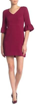 Draper James V-Neck Bell Sleeve Dress