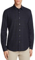 Theory Bennergasden Check Slim Fit Button-Down Shirt