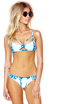 Blue Life Island Fever Cheeky Bottom in Tropical Teal