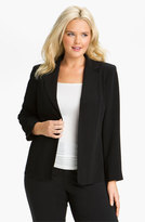 Louben Plus Size Women's Seamed Jacket