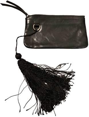 Ann Demeulemeester \N Black Leather Wallets