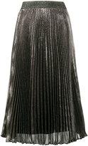 Christopher Kane pleated midi skirt - women - Silk/Polyester/Acetate - 40