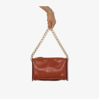 MANU Atelier red Carmen leather cross body bag