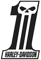 Harley-Davidson Dark Custom #1 Tin Metal Sign 12 x 18 Inches 2010521