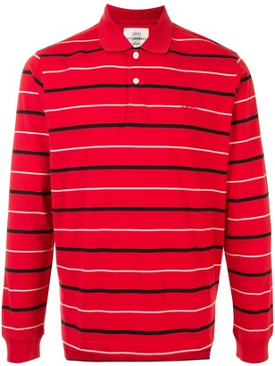 Kent & Curwen Striped Long-Sleeve Polo Shirt