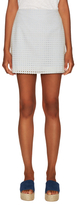 Paul & Joe Sister Glaieul Cotton Eyelet Mini Skirt