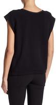 DKNY Short Sleeve Shirt with Drawstring Hem