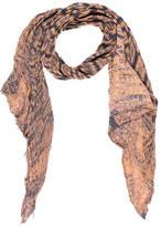 Raquel Allegra Knit Tie-Dye Scarf