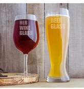 Cathy's Concepts Cathy'S Concept 'His & Hers' Xl Beer & Wine Glass Set