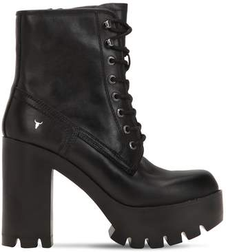 Windsor Smith 120MM ELINE LEATHER BOOTS