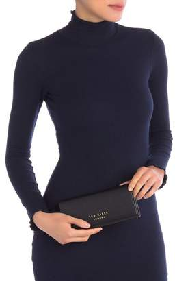 Ted Baker Selma Statement Letters Leather Matinee Purse