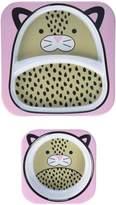 Skip Hop Zoo Melamine Plate & Bowl Set - Leopard