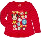 Disney Girls' Tsum Tsum Long Sleeve Hi-Lo T Shirt (4/5)