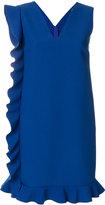 MSGM ruffled trim dress