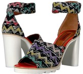 Missoni Ankle Band Zigzag Sandal Women's Shoes