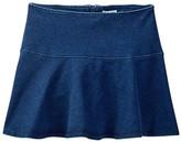 Splendid Indigo Knit Mini Skirt (Big Girls)