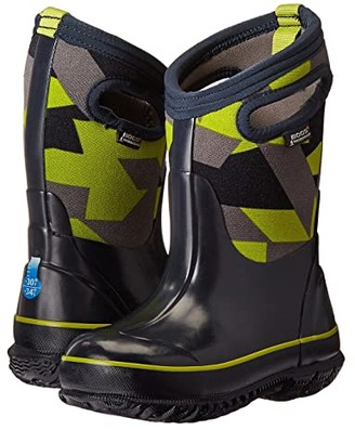 Bogs Classic Geo (Toddler/Little Kid/Big Kid) (Dark Blue Multi) Boys Shoes