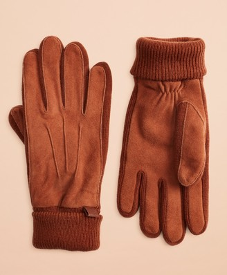 Brooks Brothers Deer Suede Gloves