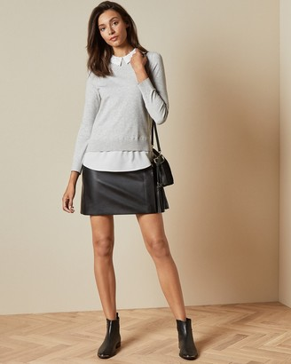 Ted Baker ZOILAA Embellished collar sweater