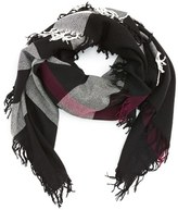 Burberry Women's Check Wool Scarf