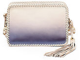 Botkier Quincy Tasseled Whip-Stitched Ombre Mini Cross-Body Bag