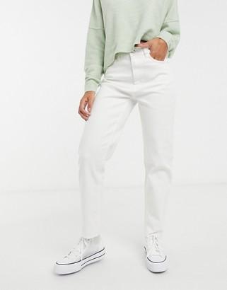 Pimkie recycled cotton straight leg jean in ecru