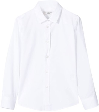 Paolo Pecora Kids Plain Long-sheeved Shirt