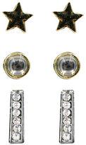 Kensie Stud Earrings- Set of 3