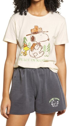 Desert Dreamer Snoopy Peace In Nature Graphic Tee