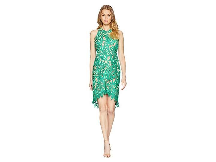 Adelyn Rae Neve Woven High-Low Lace Dress Women's Dress