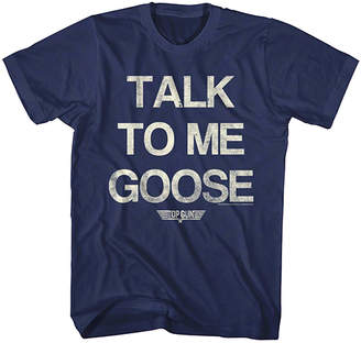 Top Gun American Classics Men's Tee Shirts NAVY Navy 'Talk To Me Goose' Tee - Men