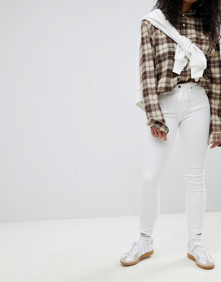 Calvin Klein Sculpted White Skinny Jeans
