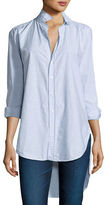 Frank And Eileen Grayson High-Low Button-Down Shirt