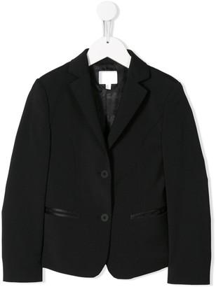 Karl Lagerfeld Paris Vertical Logo Blazer