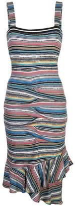 Nicole Miller Island Stripe dress